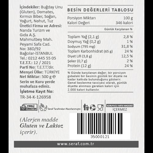 Çanakkale Tarhanası, 500 gr