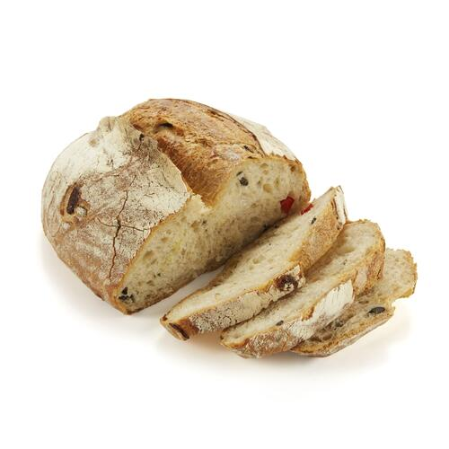 Kekikli, Biberli, Zeytinli Ekmek, 1 Adet