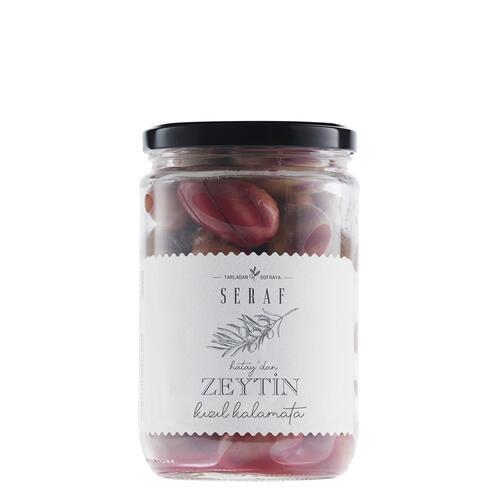 Kızıl Kalamata Zeytin, 500 gr
