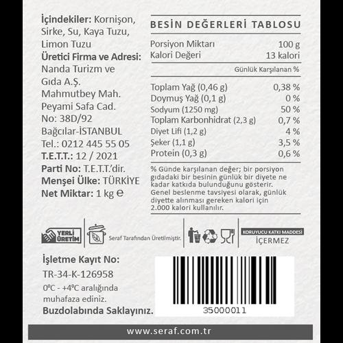 Küçük Kornişon Turşu, 1 kg