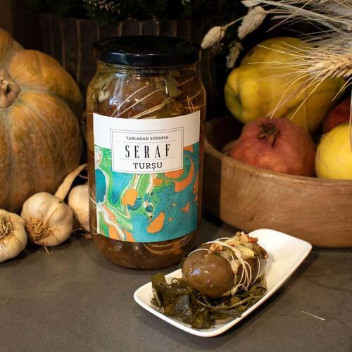 Seraf Patlıcan Turşusu, 1 kg
